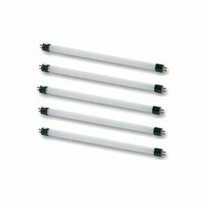 1 x T4 Fluorescent Tube 6w 220mm 3400K Warm White Light Lamp Bulb