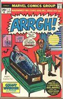Arrgh! 1974 series # 5 very fine comic book