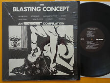 BLASTING CONCEPT LP Pettibon  1. Press NO BARCODE Black Flag Hüsker Dü Minutemen