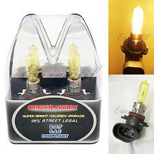 Retail Box 9005-HB3 Yellow 3K Xenon Halogen Head Lamp #St15 Bulb High Beam Light