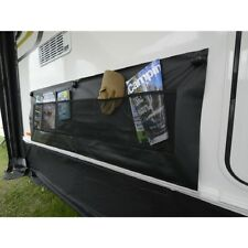 Kampa Double/ Twin Wheel Arch Cover Black (AC0333) Limpets/ for awning