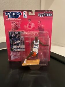 Karl Malone Starting Lineup 1998. Action figure and card in unopened box.
