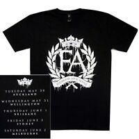 Fleshgod Apocalypse Crest Logo Australian Tour Shirt S M L XL T-Shirt Tshirt New