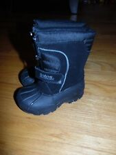 Totes Toddler BOOTS Sz 6M  TRAVIS Black Winter Boots Waterproof UNISEX EXC COND!