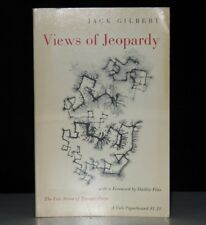 JACK GILBERT VIEWS OF JEOPARDY SIGNED FIRST EDITION 1ST PRINT POETRY 1962