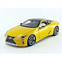 Lexus LC500 Metallic Yellow 1/18 Model Car by Autoart 78847