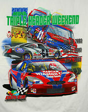 Vtg 2003 NASCAR Dover Int'l Speedway Racing MBNA 400 Triple T-Shirt New NOS XL