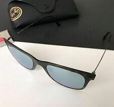 Ray-Ban RB4210 6244/30 Light Ray Tortoise Silver Iridium Mirrored Sunglasses NEW