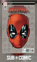 DESPICABLE DEADPOOL #287 LEGACY HEADSHOT VARIANT (MARVEL 2017 1st Print) COMIC