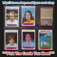 ☆ A&BC 1971 Purple Back 1st Series (FAIR) 55 to 109 *Pick The Cards You Need*