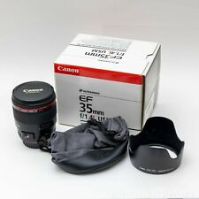 USA Canon EF 35mm f/1.4L USM Lens with B+W UV Filter - EXCELLENT CONDITION!