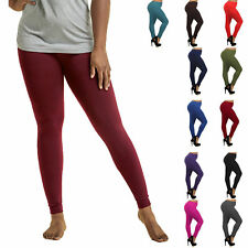 Womens Fleece Leggings Plus Size Lined Thick Warm Winter Curvy Pants XL XXL XXXL