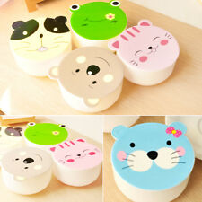 Durable Children Kids Microwave Cute Cartoon Lunch Box Foods Portable Container