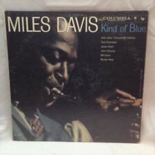 "Miles Davis ‎Kind Of Blue 1959 Mono Columbia ""6"" Eye CL 1355 Vinyl LP Record G+"