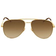Yves Saint Laurent Gold Aviator Sunglasses