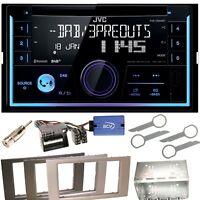 JVC KW-DB93BT USB MP3 Bluetooth Einbauset für Ford Focus Fusion Galaxy S-Max