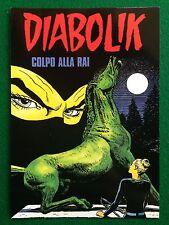 Cartolina Card DIABOLIK Sceneggiato RADIO 2 , Promocard n 78/2081 (2000)