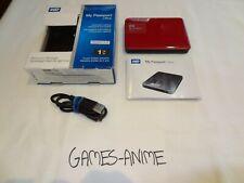 1TB WD My Passport Ultra Portable External Hard Drive - BERRY # WDBGPU0010BBY