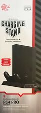 PS4 Pro Vertical Stand with 2 Cooling Fans Dual Controller Charging Station