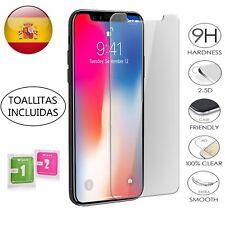 """PROTECTOR PANTALLA IPHONE X 5,8"""" Cristal templado Dureza 9H PREMIUM GLASS"""