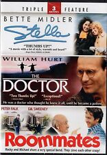 Stella/The Doctor/Roommates (DVD, 2012, 2-Disc Set) William Hurt, Bette Midler
