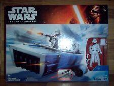 Star Wars First Order Snowspeeder + Snowtrooper Officier B3673 Hasbro 2015 NEUF