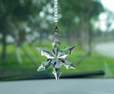 Crystal Clear Christmas LITTLE STAR SNOWFLAKE Ornament Xmas Gift with Box AAA