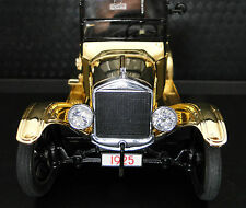 A Ford 1925 1 Sport 24 Car 43 Vintage Antique Exotic 24K Gold 64 T 18 Model 12