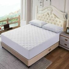 Mattress Pad Deep Pocket Cooling Breathable Topper Fitted Mattress Pad Protector