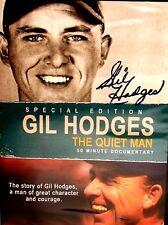 Gil Hodges: The Quiet Man : NEW! DVD, FREE SHIP! Baseball,Dodgers, Mets,Brooklyn