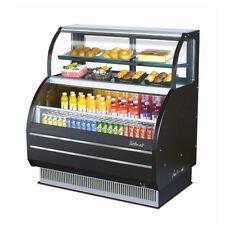 Turbo Air Tom-W-40Sb Open Display Merchandiser & Refrigerated Top Display Case