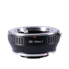Minolta MD SR Mount Lens to Nikon 1 Mount J1 V1 Camera Lens Adapter Ring Tube