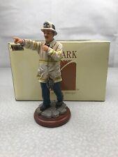 "Vanmark ""Chief"" Fireman Figurine 1998 Vintage KG WSR"