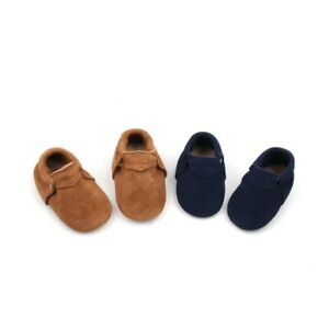 Suede Baby Moccasins Starbie's Anti-Slip baby moccasins baby shoes leather