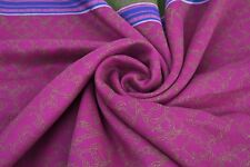 Indian Vintage Art Saree Cotton Woven Used Sari Used Craft Wrap Fabric 5 Yard
