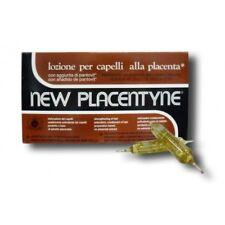 NEW PLACENTYNE FIALE CAPELLI ANTICADUTA ALLA PLACENTA 12 FIALE RISTRUTTURANTE
