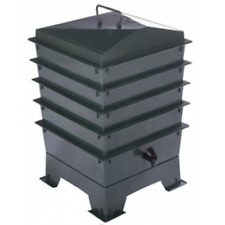 Deluxe WORMERY KIT, 4 Tray, Composter, Compost (Green), 5 Year Warranty