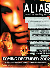 ALIAS SEASON 1 PROMOTIONAL SELL SHEET