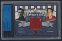 BERT L TED LINDSAY 10-11 ITG ULTIMATE FATHERS DAY ULTIMATE VAULT 1/1 RUBY 15957