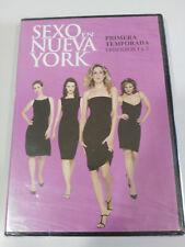 SEXO EN NUEVA YORK PRIMERA TEMPORADA EPISODIOS 1 Y 2 - DVD ESPAÑOL ENGLISH NUEVO