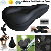 Bike Cycle Bicycle Extra Gel Pad Cushion Cover For Saddle Seat Comfy