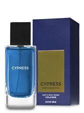 BATH & BODY WORKS Cypress 3.4 Fluid Ounces Eau de Cologne Spray