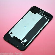 Black iPhone 4 Back Glass Rear Door Battery Case Cover CDMA replacement