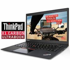 """LENOVO Thinkpad Ultrabook Laptop X1 Carbon 1st 14"""" i5-3427U 4Gb 128GB SSD Win 10"""