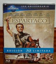 ESPARTACO SPARTACUS DIGIBOOK BLU-RAY+LIBRO NUEVO PRECINTADO CLASICO (SIN ABRIR)