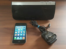 Apple iPod touch 4th Gen Black 8GB + Docking Station + Accessories