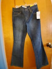 Fashion Bug Straight Blue Jeans  Women's Size 4 Petite NWT