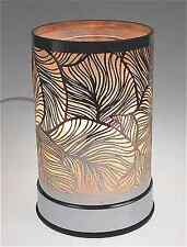 New Electric Touch Fragrance Lamp Aromatherapy  Essential Oils Silver Leaves
