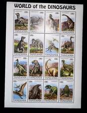 Tanzania 1994 dinosaurs