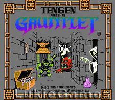Gauntlet Tengen Licensed NES Nintendo Game